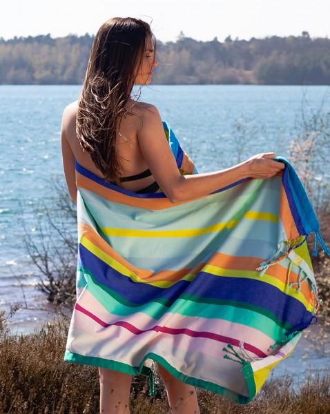 Maui Strandtuch REMEMBER modernes Handtuch