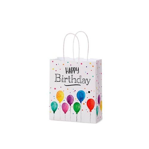 Geschenktüte HAPPY BIRTHDAY 17x7 H21 LaVida