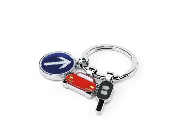Schlüsselanhänger Führerschein 3 Anhänger ON THE ROAD Troika