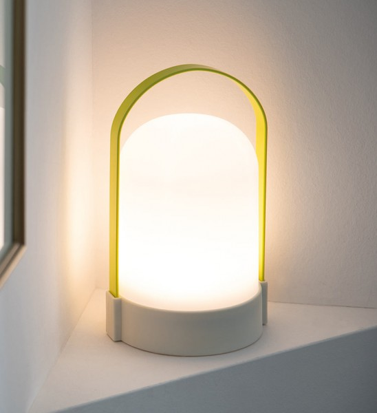 LED Lampe Celine URI Akku 3 Stufen Dimmer REMEMBER