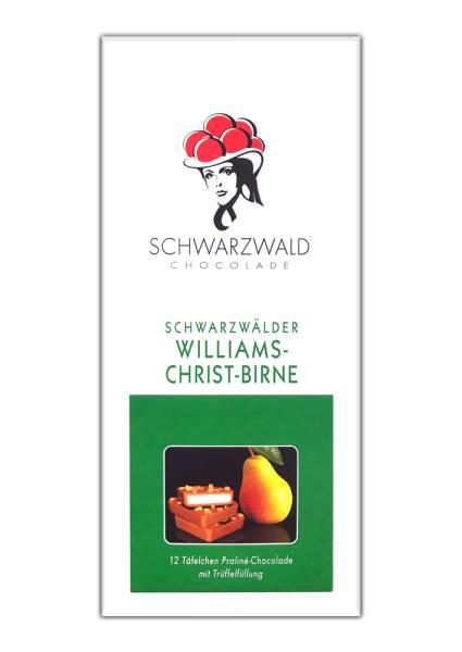 Williams-Christ-Birne-Trüffelfüllung 100g Praline Schwarzwald Chocolade