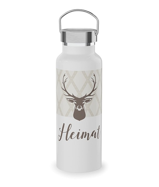 Trinkflasche Heimat Gipfelgrüße Geschenk LaVida