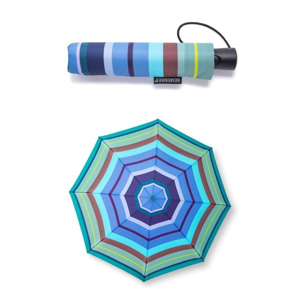 Aquamarine Taschen Regenschirm Automatik REMEMBER
