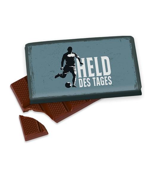 """40gr. Schokolade """"Held des Tages"""" Männer Geschenk für Dich"""