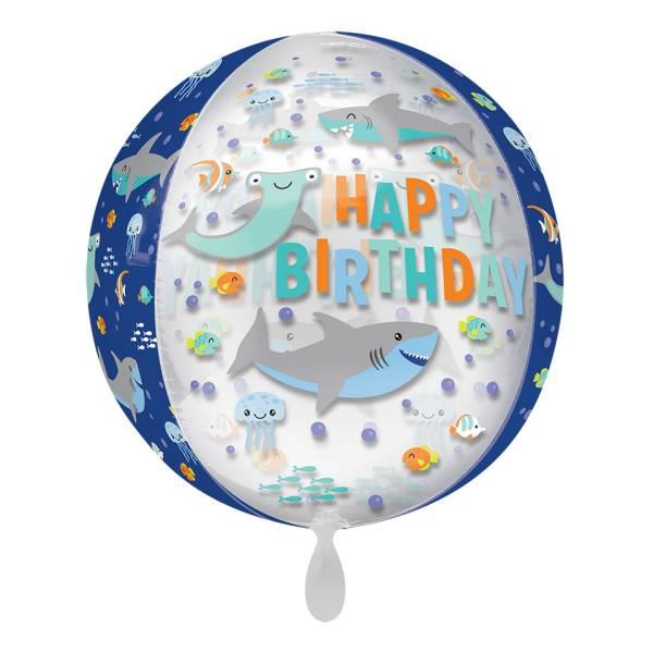 Kugelballon Meerestiere Hai Luftballon