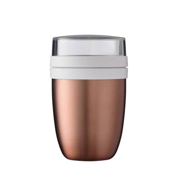 Thermo-Lunchpot Ellipse Rosegold Mepal