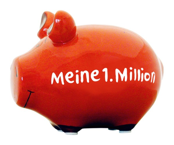 Sparschwein Meine 1. Million