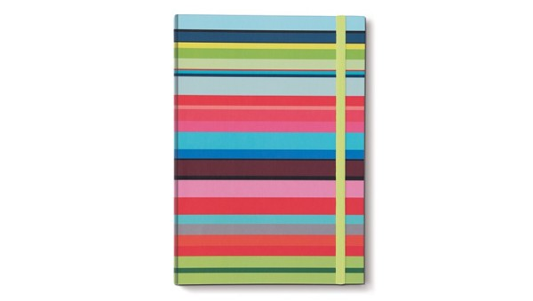Notizbuch A4 Stripes kariert