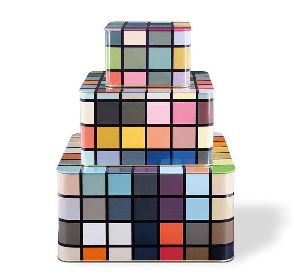 Blechdose Mosaiko Aufbewahrungsboxen Set REMEMBER