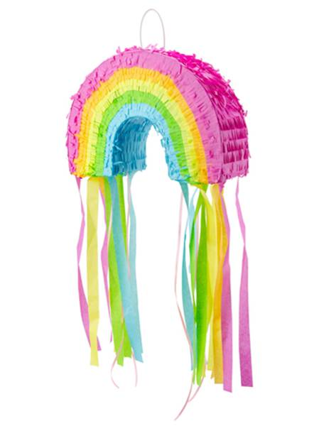 Pinata Regenbogen Kindergeburtstag 21x30 cm