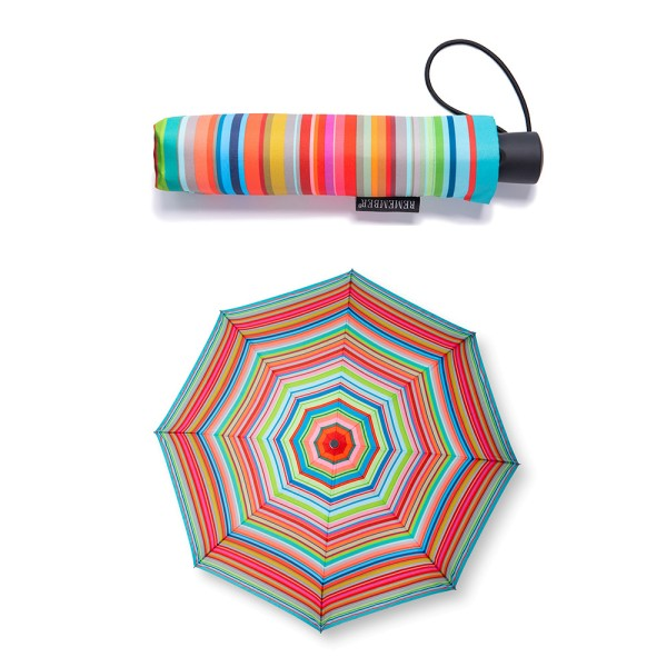 Stripes Taschen Regenschirm Automatik REMEMBER