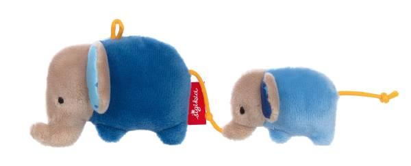 Greifling Elefant blau Rassel Anhänger Sigikid