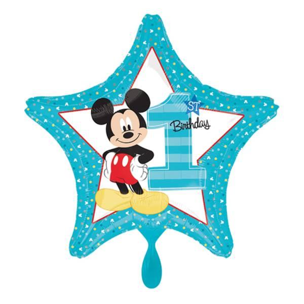 Mickey Mouse 1st Geburtstag Folienballon Luftballon