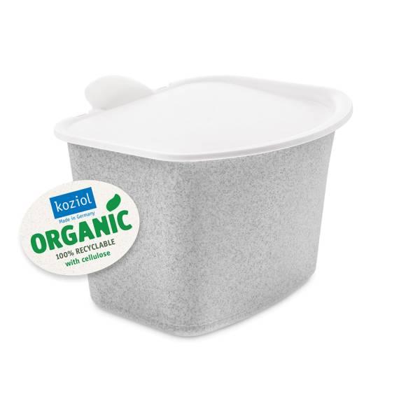 Abfall Behälter Bibo Organic grau Koziol