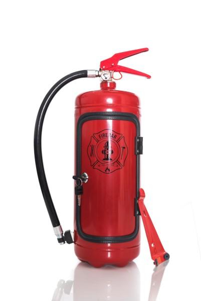 Mini SchnapsBar Feuerwehr Feuerlöscher Männerkoffer Firebar