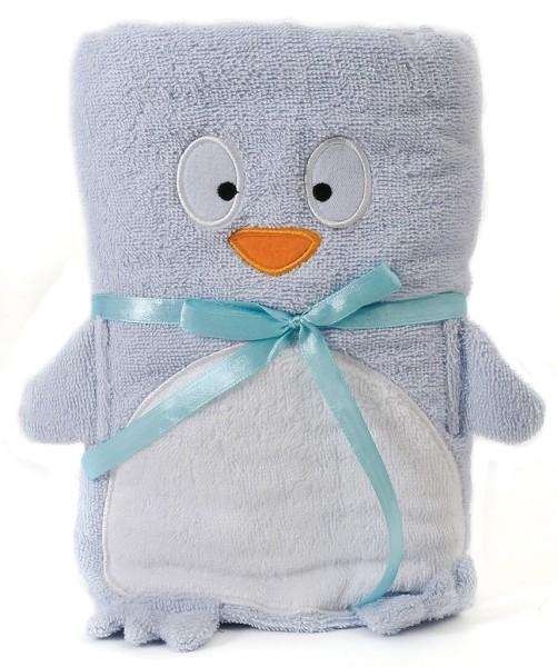 Handtuch Pinguin 115x70cm Baby Geschenk Pusher